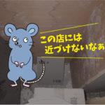 ネズミ駆除点検(飲食店・岡崎市)※豊橋市、豊田市、安城市も対応します。
