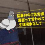 ハト糞清掃(岡崎市:会社)*岡崎市・豊橋市は無料で調査見積します。