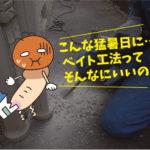 シロアリ駆除・ベイト工法(一般住宅・愛知県阿久比町)※豊橋市、岡崎市は無料で調査見積します。